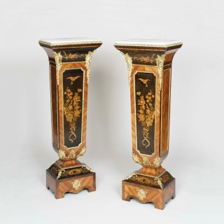 A Pair of Pedestals Attributed to Joseph Cremer