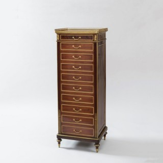 A Chest of Drawers in the Louis XVI Manner Attributed to Mellier & Co