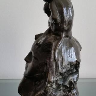 Richard Garbe RA  (1876 - 1957) Bronze 1920
