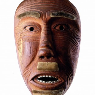 East Greenland Ammassalik 'Angakoq' Eskimo Shaman's Magical Mask
