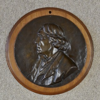 Relief Portrait of Sir Henry Irving
