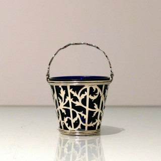 Antique George II Sterling Silver Cream Pail London 1759 Charles Chesterman I