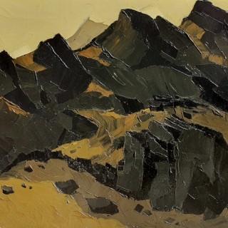 Hills Above Nant Peris