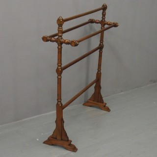Arts and Crafts Style Towel Rail