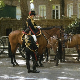 Officers of the King's Troop Royal Horse Artillery
