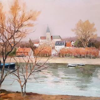 Matin, Brumeux sur la Seine