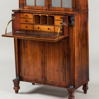 A Secrétaire Cabinet of the Regency Period Firmly Attributed to George Oakley