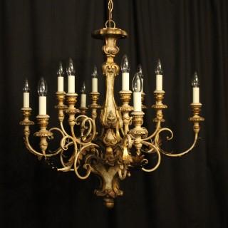 Florentine 12 Light Polychrome Chandelier