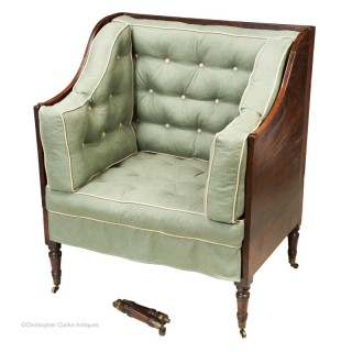 Campaign Chair Bed by Butler