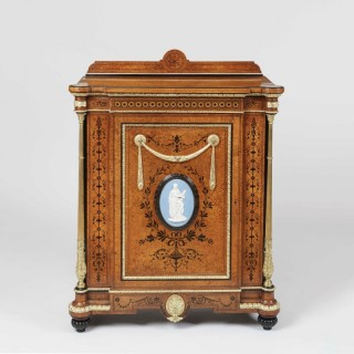 A Neo-Classical Side Cabinet
