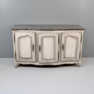 Marble Topped Enfilade