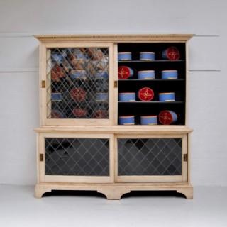 Glazed Oak Cupboard