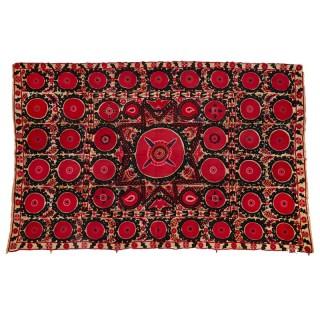 A 19th Century Suzani Bukhara textile work