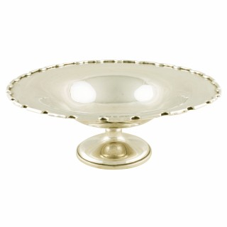 George V Sterling Silver Tazza