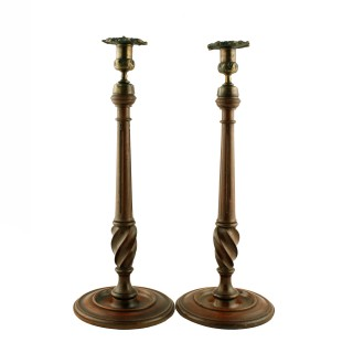 Pair of Georgian Style Candlesticks