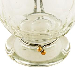 19th Century Olive Oil Decanter