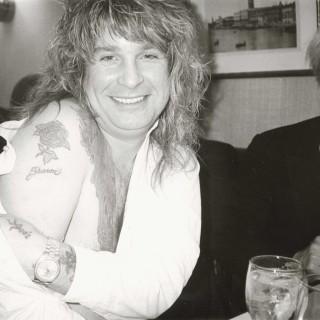 Ozzy Osbourne and Andy Warhol