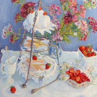 Strawberries for Tea