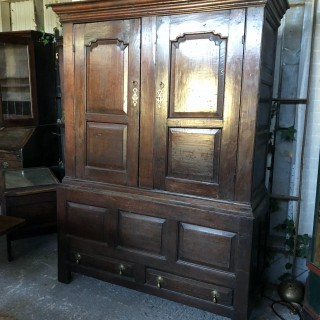 18th century livery cupboard