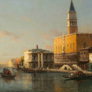 Grand Canal and Doge's Palace, Venice