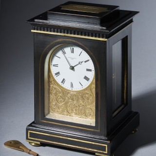 Unique and Fine Mid 19th-Century Travelling Clock by Arnold and Dent
