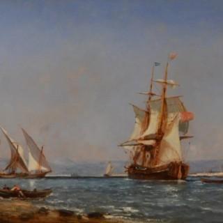 Shipping off Mediterranean Ports, a Pair