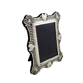 Antique Edwardian Sterling Silver Photo Frame 1901