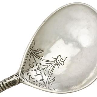Norwegian Silver Spoon - Antique Circa 1650