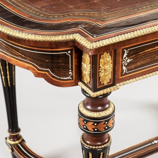 A Louis XVI Centre Writing Table in the Aesthetic Taste, Firmly Attributed to Holland & Son