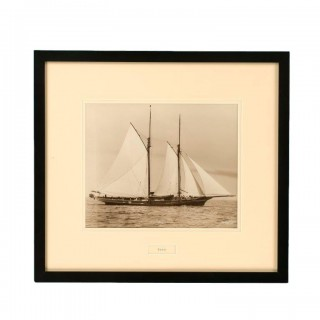 A Gelatine print of the Yacht Foam by Beken and Sons