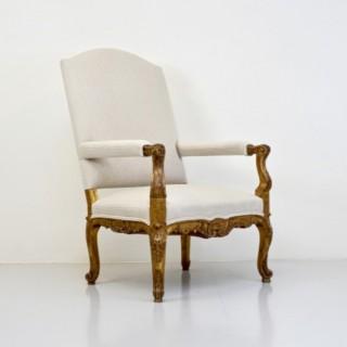 Gilded Armchair