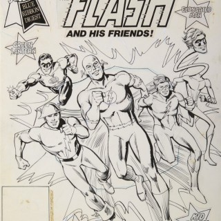 The Flash and his Friends!