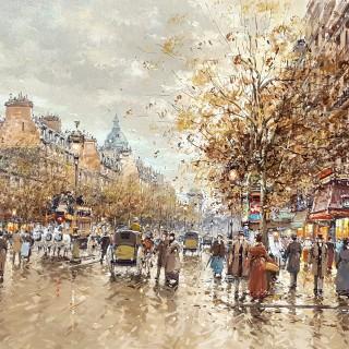 Boulevard bonne nouvelle, Paris