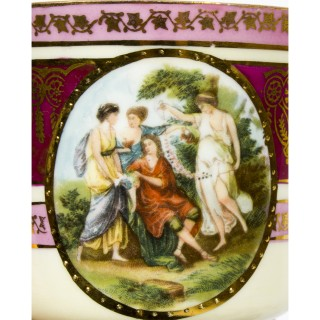 Antique Rudolf Kämpf Porcelain Tea Set 1918