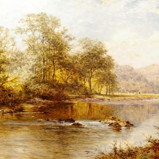 On the River Llugwy, Wales