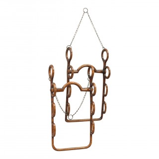 A Pair Of Antique Hunting Whip Racks By Thornhill, 144 New Bond Street
