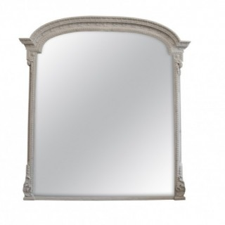 Large Overmantel Mirror