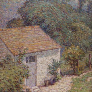 Potting Shed in the Artist's Garden at Crozant