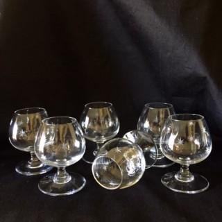Small spirit glasses