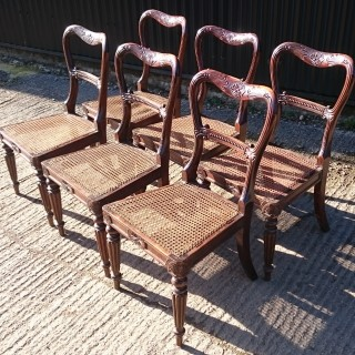 Set of Six Regency Chairs by Gillows of Lancaster and London