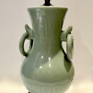Celadon Lamp