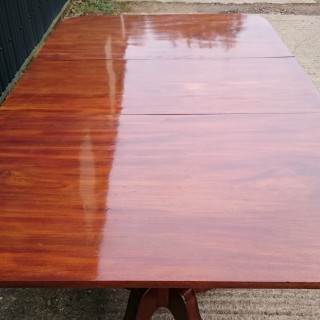 Twin Pedestal Dining Table