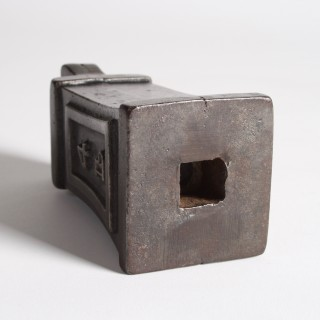 4 lb square waisted weight