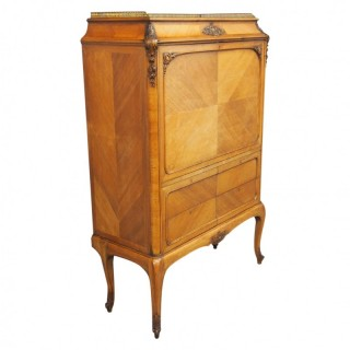 Marble Top Secretaire a Abbatant by Whytock and Reid