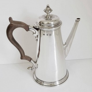 George I Silver Coffee Pot