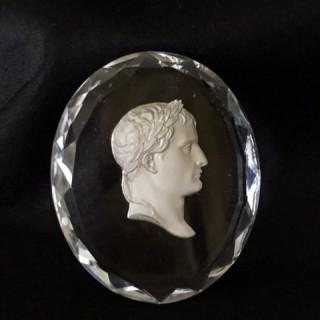 Sulphide plaque of Napoleon