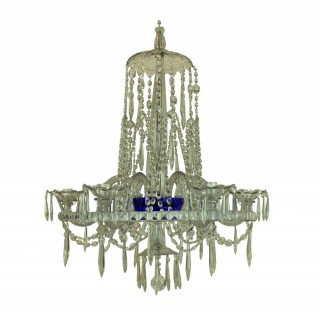 AN EARLY XIX CENTURY RUSSIAN CHANDELIER