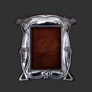 William Hair Haseler arts and crafts silver photo frame