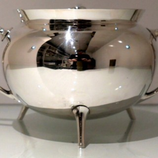 19th Century Antique Victorian Silverplate Soup Tureen Circa 1890  Walker & Hall