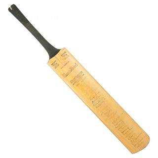 Signed Stuart Surridge Cricket Bat, West Indies, England, Somerset And Gloucestershire, 1957